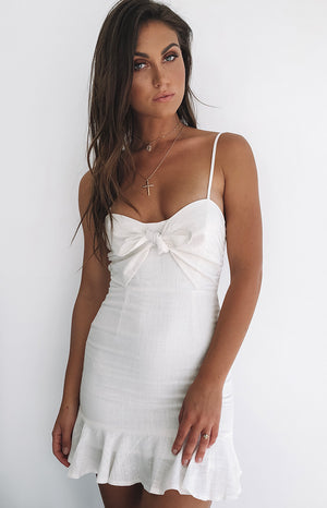 Sunset Lover Dress White