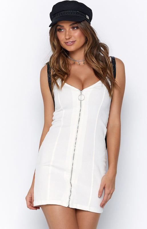 Night Dance Dress White