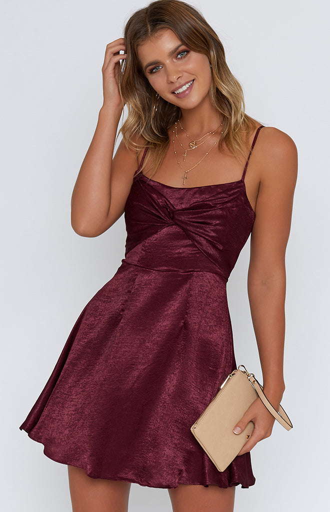 River Nile Dress Wine