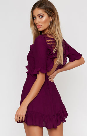 Shiraz Dress Plum
