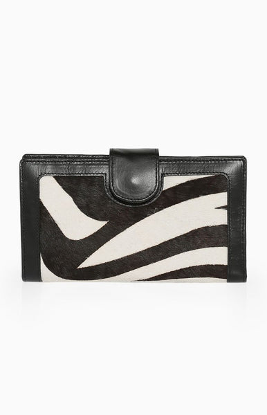 Status Anxiety Doris Wallet Zebra