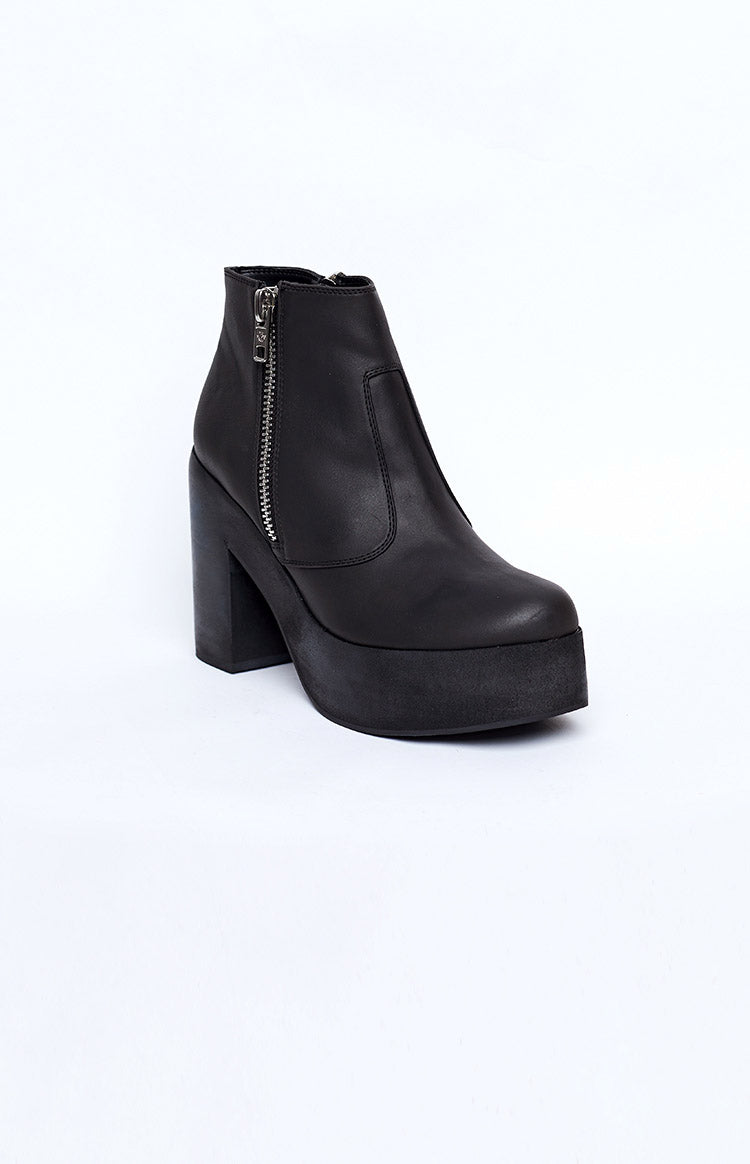 Current Mood Midnight Stepper Boots Black