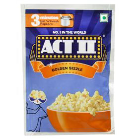 Act 2  Popcorn Golden Sizzle 41g
