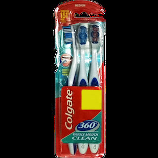 Colgate 360Whole Mouth Clean Toothbrush