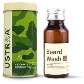 Ustraa  Beard Wash Woody Grooming For Men 60ml