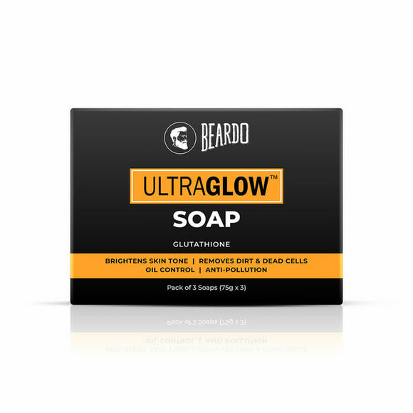 Beardo Ultra Glow Soap 75g*3