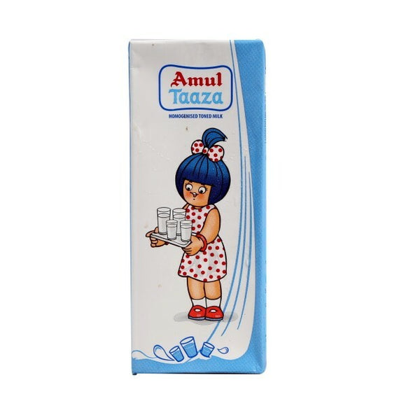 Amul Taaza Toned Milk 200ml