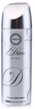 Armaf  Idivo For Men Perfume Body Spray 200ml