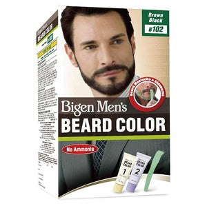 Bigen Mens Beard Color Brown Black B102 40g