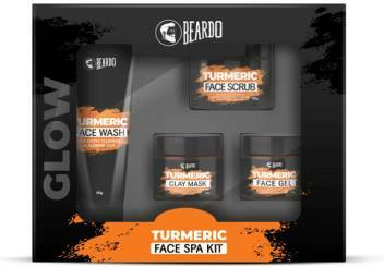 Beardo Turmeric Face SPA Kit 4N 350ml