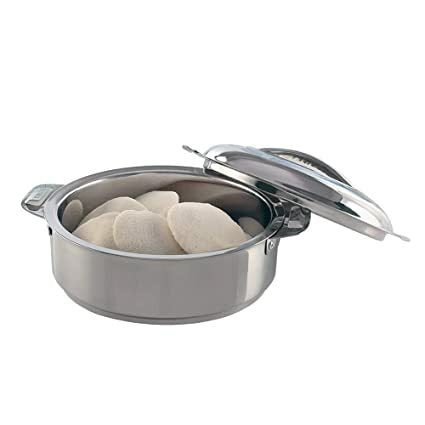 Borosil Stainless Steel Insulated Idli Sever 900ml 1N