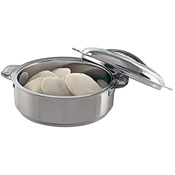 Borosil Stainless Steel Insulated Idli Sever 3.0L  1N