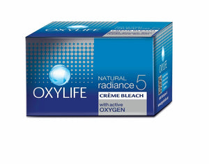 Dabur Oxylife Natural Radiance 5 Creme Bleach 9g