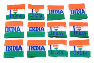 15 August Tricolor Hand Band (6 Pcs)