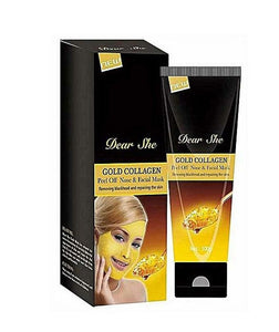 Dear She Gold Collagen Peel Off Nose & Facial Mask 100g