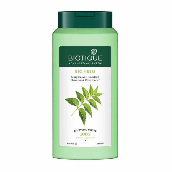 Biotique Bio Neem Margosa Anti Dandruff Shampoo & Conditioner 340ml