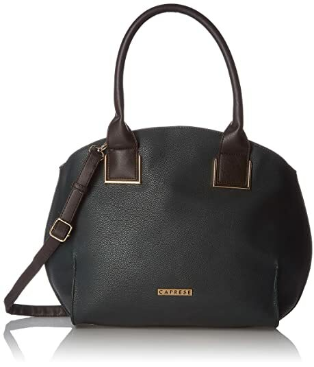 Caprese Black Kylie (R) Large Satchel Ladies Handbag Size(43*15*30)