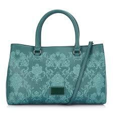 Kashmir Satchel Large Teal Ladies Hand bag