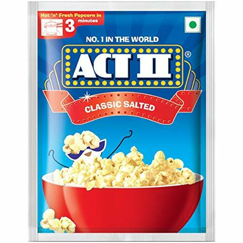 Act II Classic Salted Flavour 3 Minutes 41gm