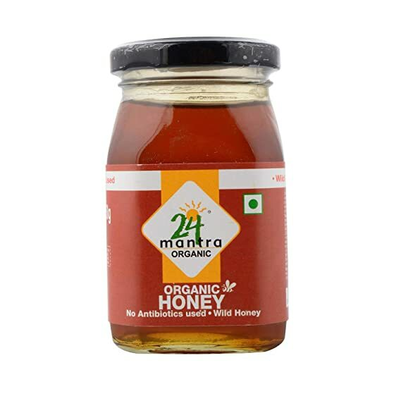 24 Mantra Organic Wild Honey 250g