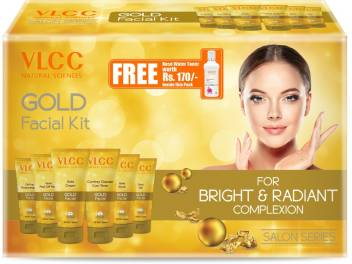 vlcc natural sciences Gold  facial kit 300gm + 100ml