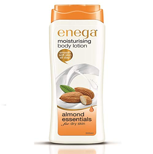 Enega Moisturizing Body Lotion Almond Essentials For Dry Skin 500ML