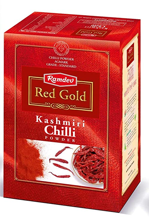 Ramdev Red Gold Kashmiri Chilli Powder 100G