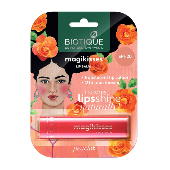 Bio Magikisses Peachit Lip Spf 20 4g