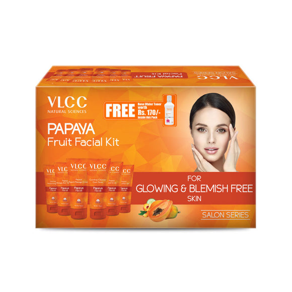 vlcc papaya facial kit 300gm+100ml