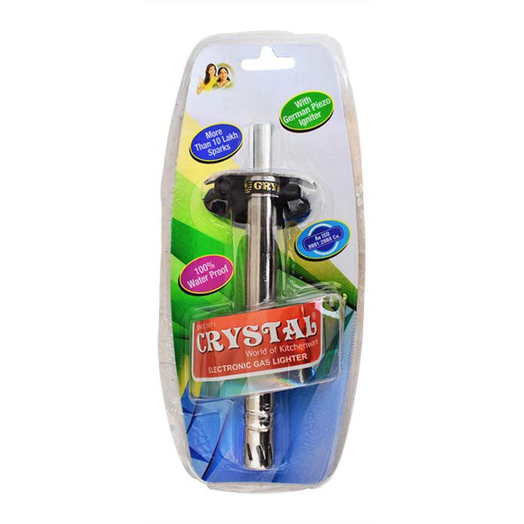 Crystal Electronic Gas Lighter LI003N