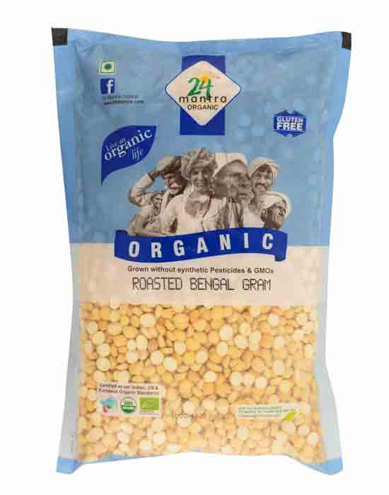 ROASTED CHANA BENGAL GRAM DAL 500 GMS