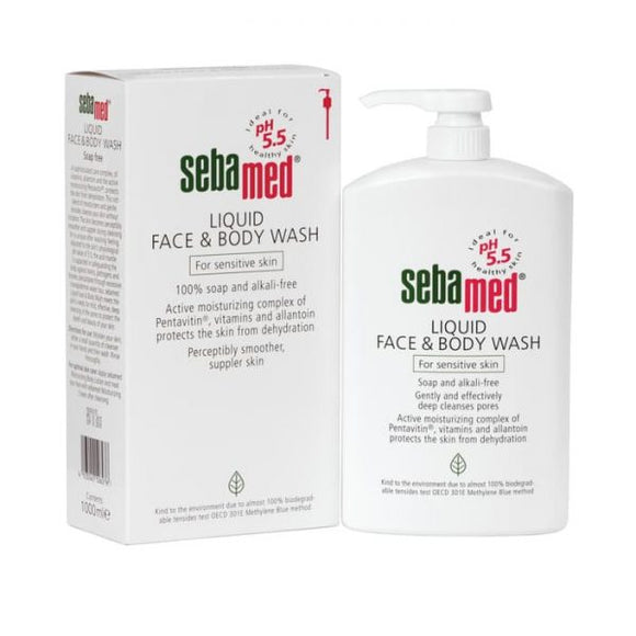 Sebamed  Liouid Face & Body Wash 200ml