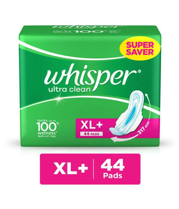 Whisper Ultra Clean XL 44 Pads