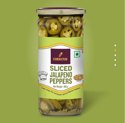 Cornitos Sliced Jalapeno Peppers  180gm / 370ml