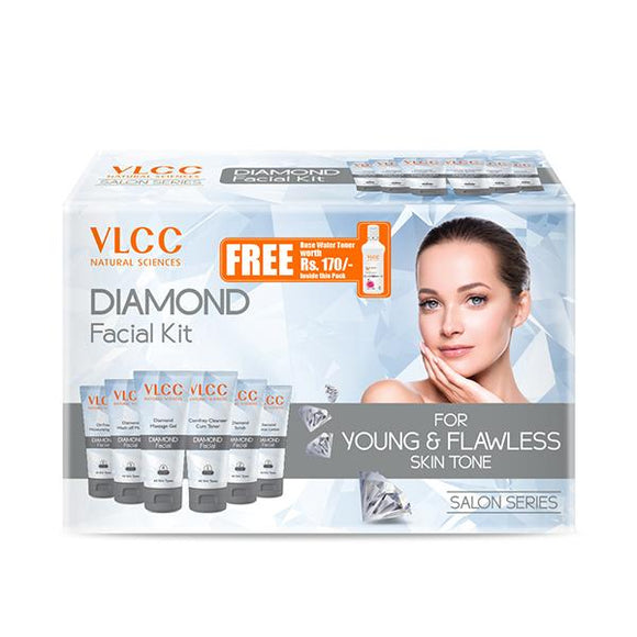 Vlcc naturals sciences Diamond Facial kit 33gm+100ml