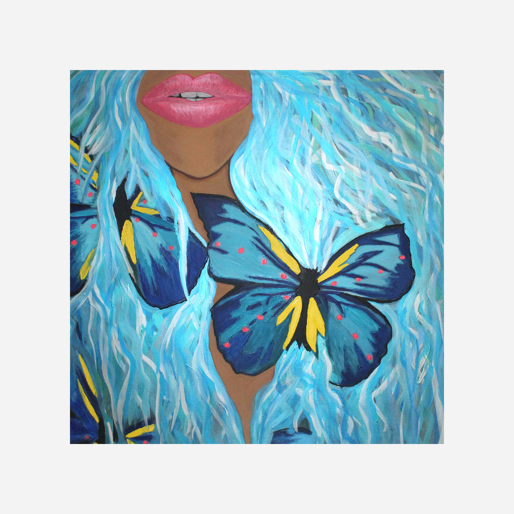 You Give Me Butterflies Prints Via S World