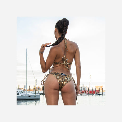 Snake Skin One Piece Bathing Suit