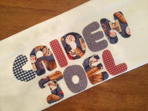 Ball Game Towel