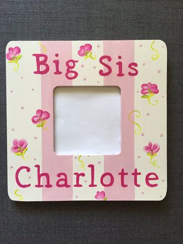 Big Sis Picture Frames