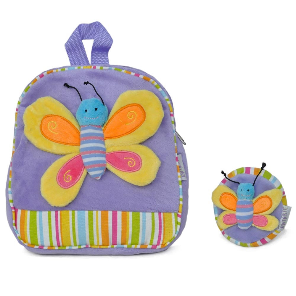 Patched Butterfly Backpack