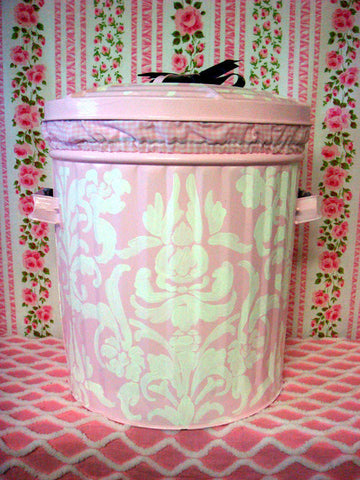 Damask Hamper