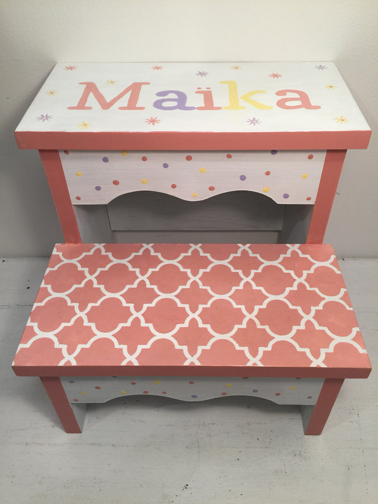 Dot and print stool