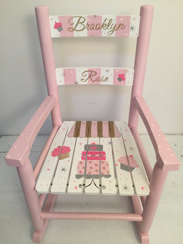 Cupcake Rocking chair