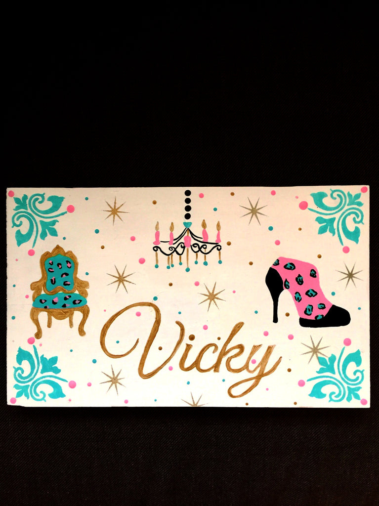 Tween wall plaque