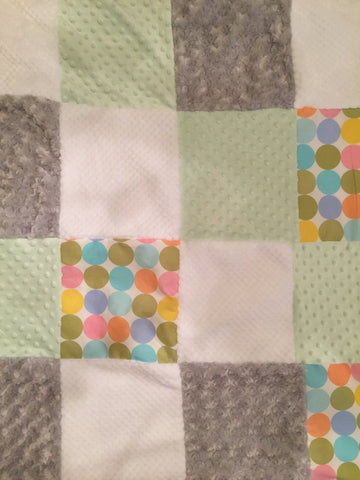 Dimple and Dots quilt