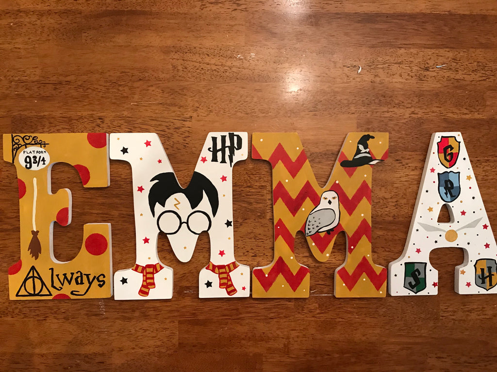 Harry Potter Wall Letters