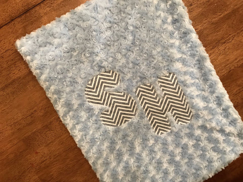Cozy Chevron Blanket