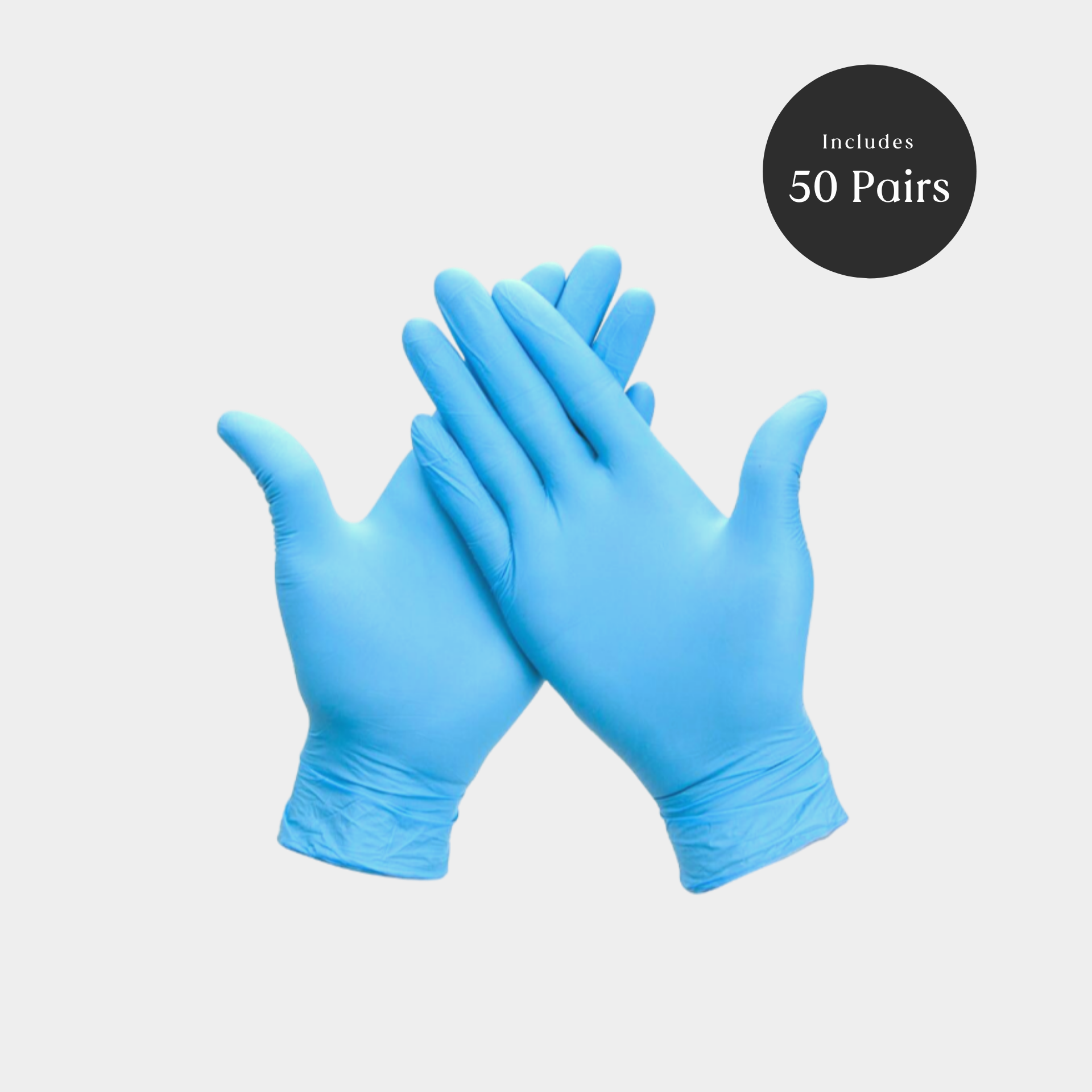 Nitrile Gloves - 50 Pairs