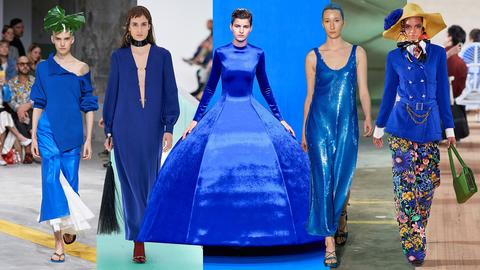 Vogue Says....Pantone 2020 Color is Classic Blue