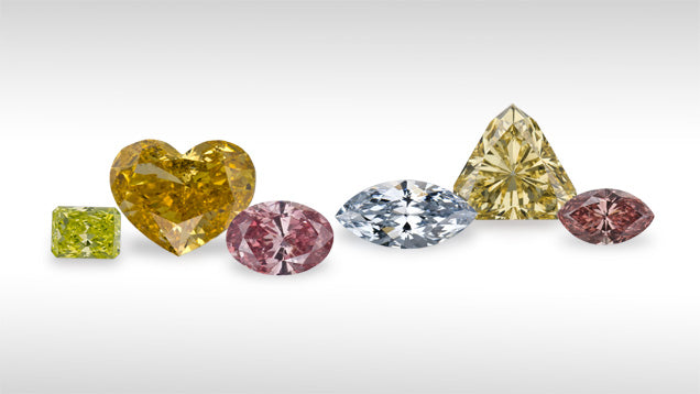 From the Gemological Institute of America: Fancy Colored Diamonds